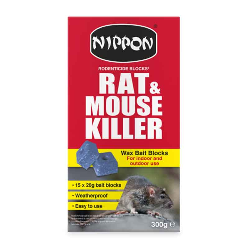 Picture of Nippon Rat & Mouse Killer Wax Bait Blocks