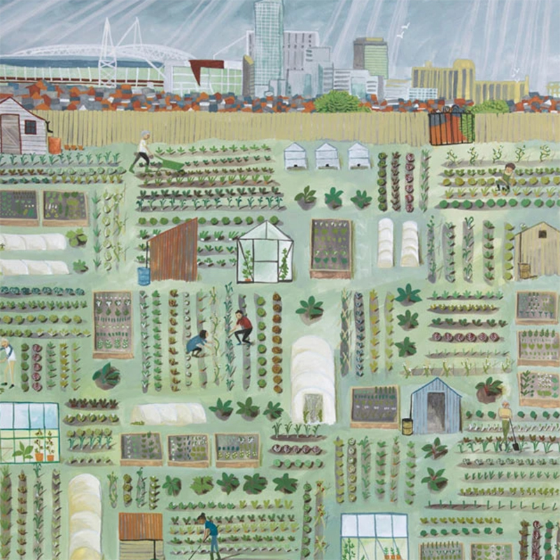 Picture of 'Our Garden' by Valeriane Leblond - blank inside card