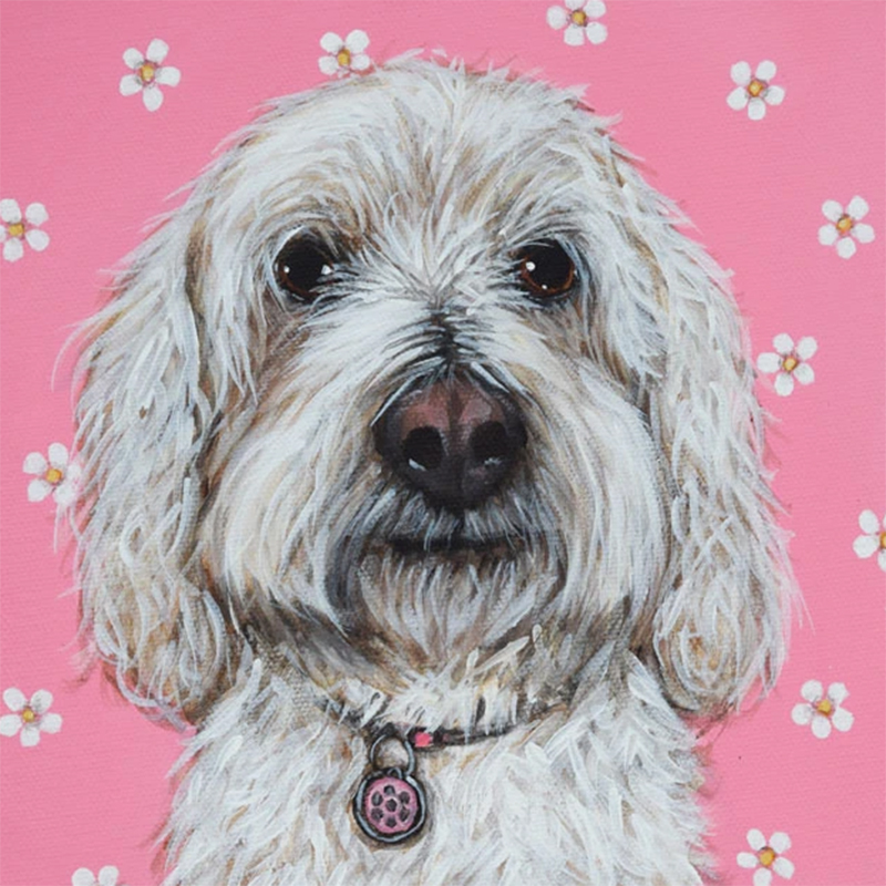Picture of 'In The Pink' by Claire Brierley - Blank Inside Card