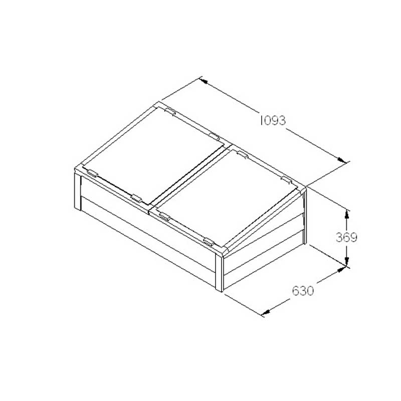 Picture of Forest Garden Large Overlap Cold Frame