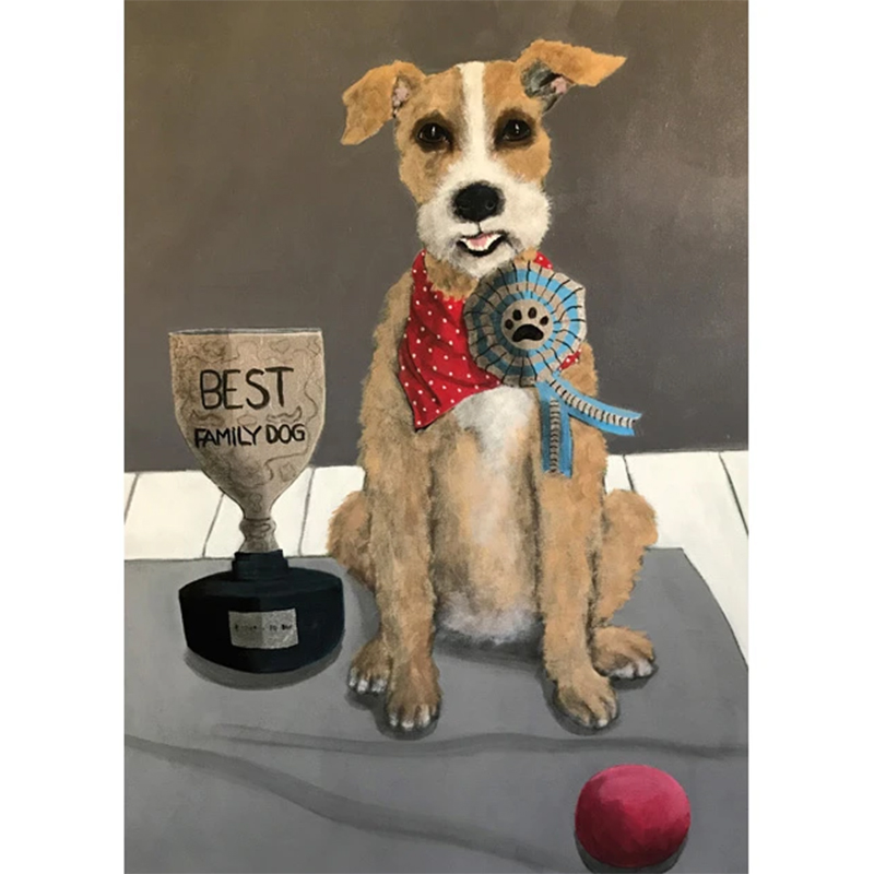 Picture of 'Best Dog' by Mary Carlson