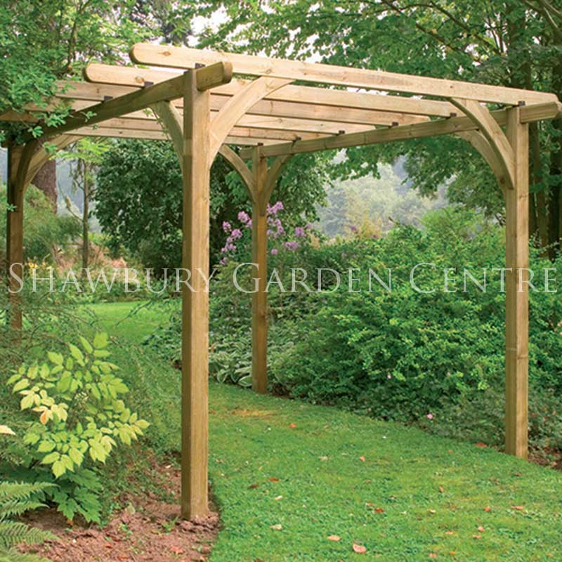 Picture of Forest Garden Ultima Pergola Kit 3.6 x 3.6m