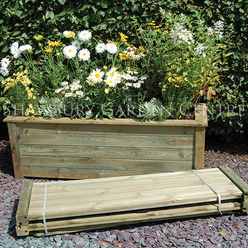 Picture of Forest Garden Bamburgh Planter Kit: 1m