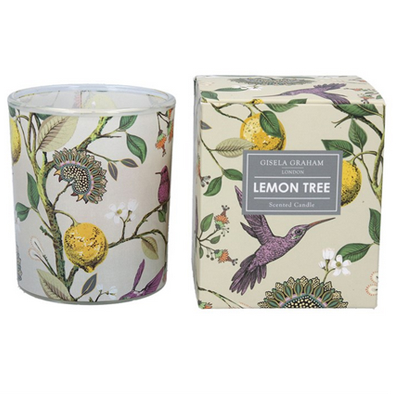 Picture of Gisela Graham Lemon Tree Scented Candle