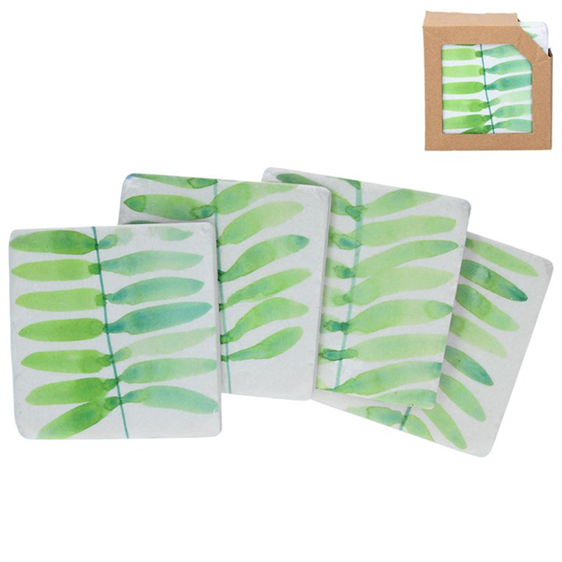Picture of Gisela Graham Fern Fronds Coasters