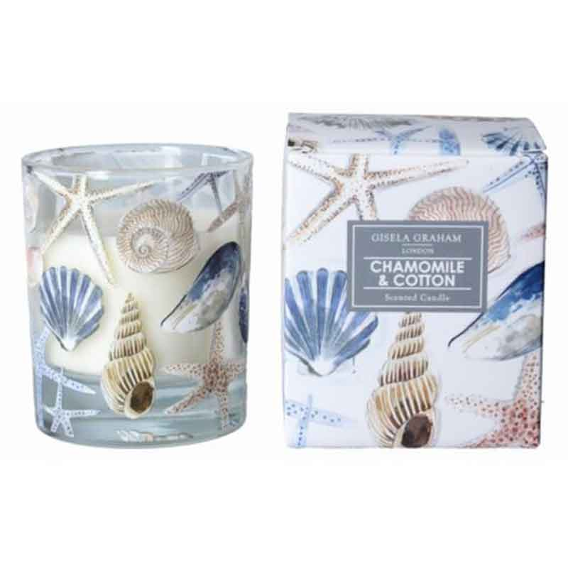 Picture of Gisela Graham Chamomile & Cotton Scented Candle