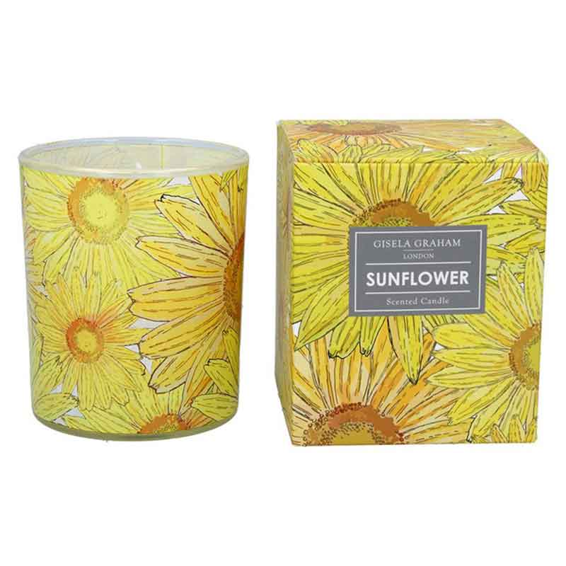 Picture of Gisela Graham Sunflower Scented Candle