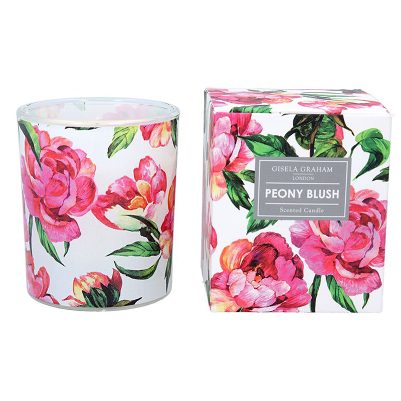 Picture of Gisela Graham Peony Blush Scented Candle