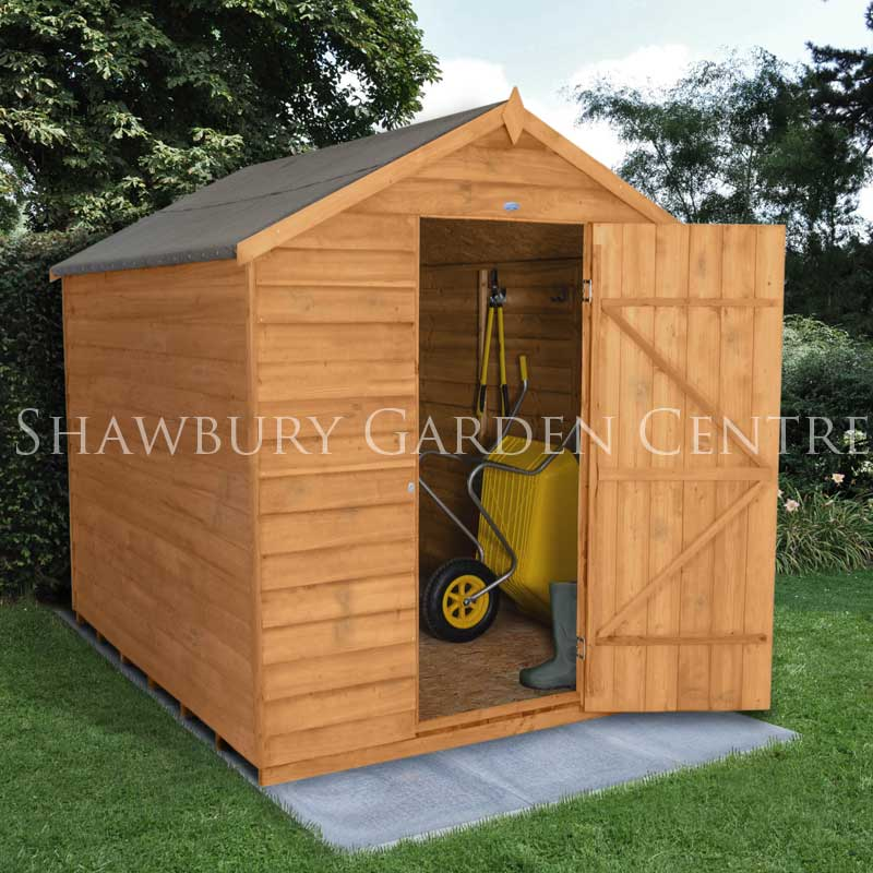 Picture of Forest Garden 6 x 8 Overlap Apex Shed NW