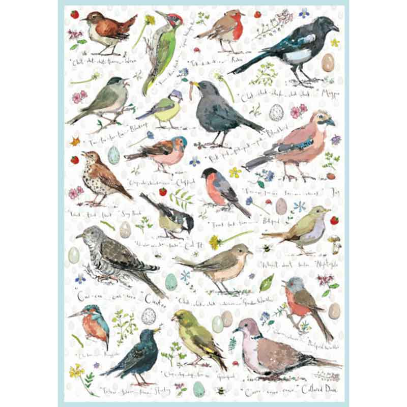Picture of Otter House Ltd Birdsong 1000 Piece Puzzle