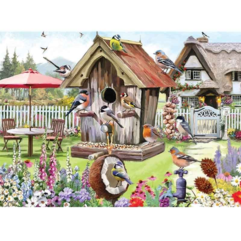 Picture of Otter House Ltd FEATHERED FRIENDS 1000 Piece Jigsaw Puzzle