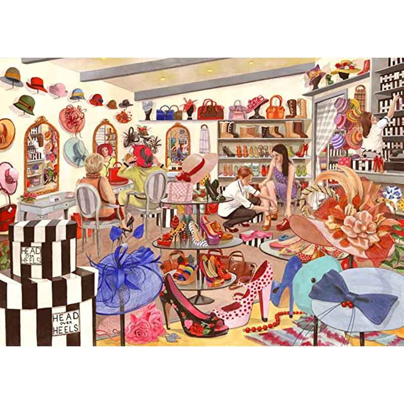 Picture of House of Puzzles 'Head Over Heels' Big 500 Jigsaw