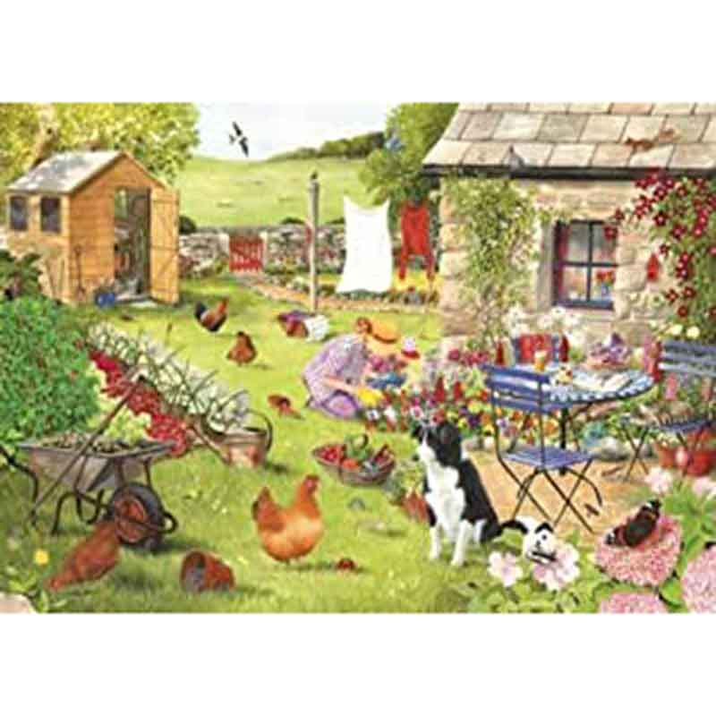 Picture of House of Puzzles 'Grandma's Garden' Big 500 Jigsaw