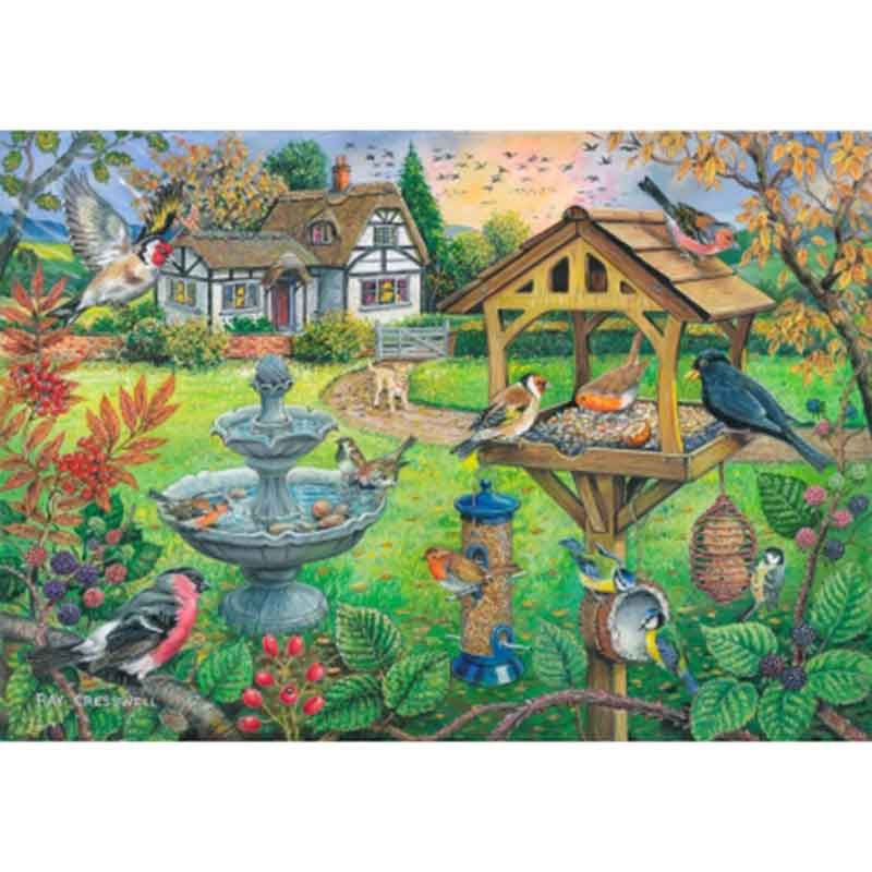 Picture of House of Puzzles 'Bird Table' Big 500 Jigsaw