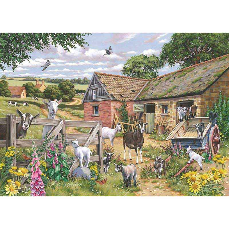 Picture of House of Puzzles 'Just Kidding' Big 500 Jigsaw