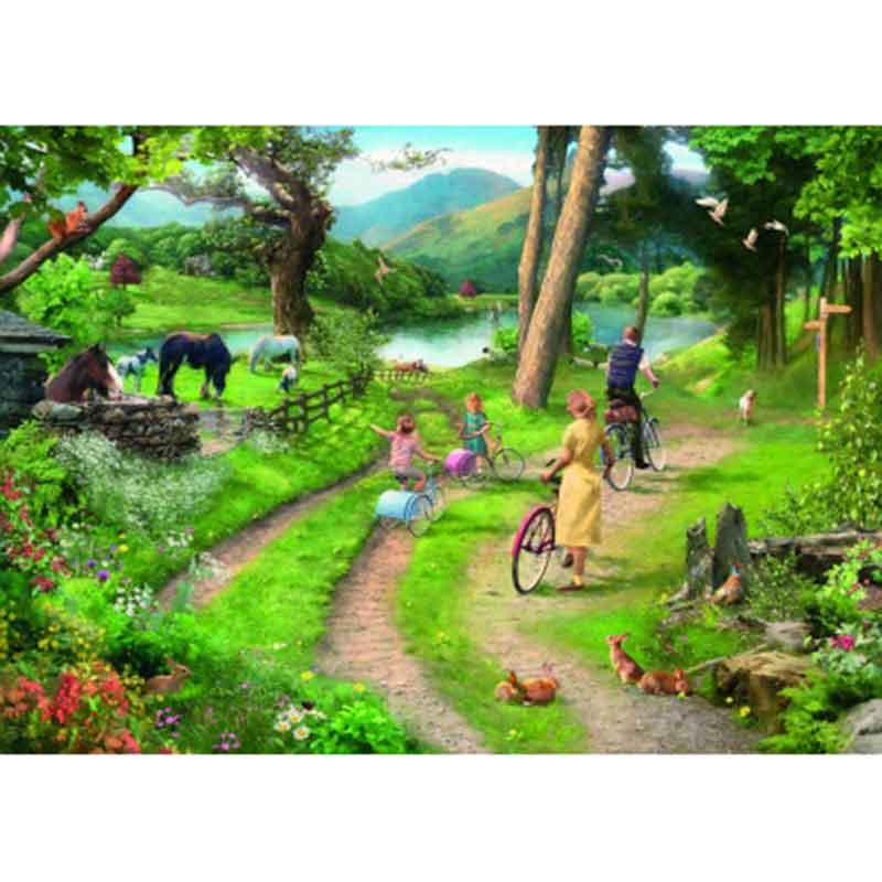 Picture of House of Puzzles 'Family Day Out' Big 250 Jigsaw