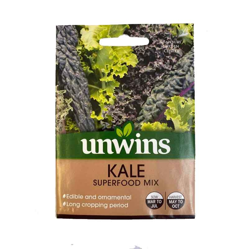 Picture of Unwins KALE Superfood Mix Seeds