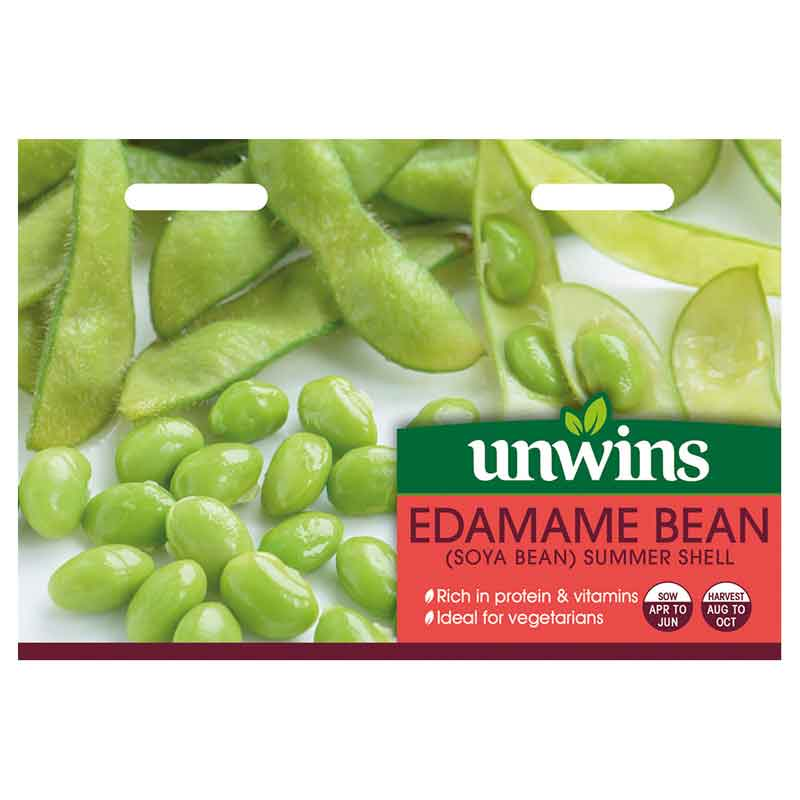 Picture of Unwins EDAMAME BEAN (Soya Bean) 'Summer Shell' Seeds