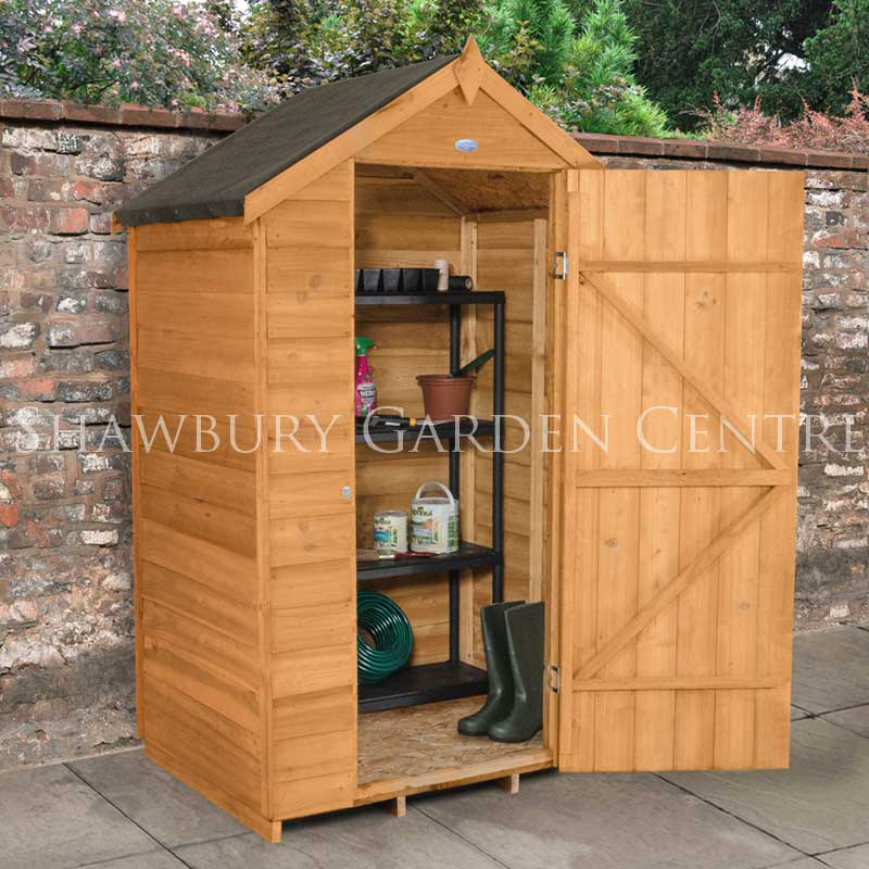 Picture of Forest Garden 4 x  3 Overlap Apex Shed