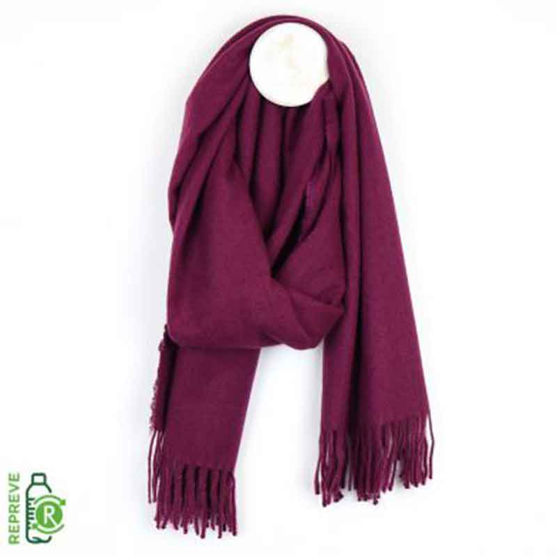 Picture of pom925 Mulberry Super Soft Scarf