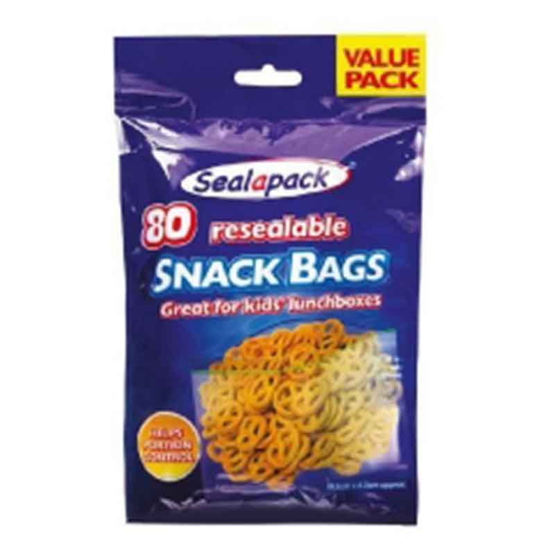 Picture of Sealapack Resealable SNACK BAGS