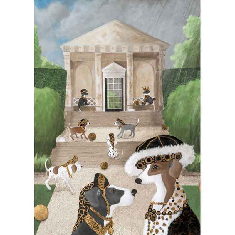 Picture of FALLING FOR MR REX  BY Mary Carlson Blank Inside Card