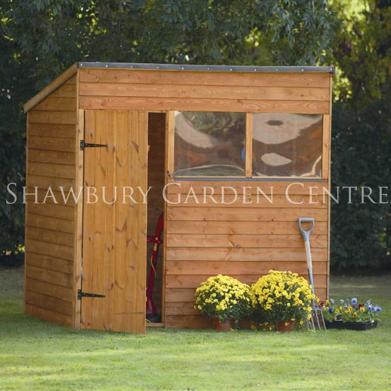 Picture of Forest Garden 7 x 5 Overlap Pent Shed