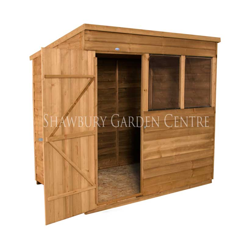 Picture of Forest Garden 7 x 5 Overlap Pent Shed inc ASSEMBLY