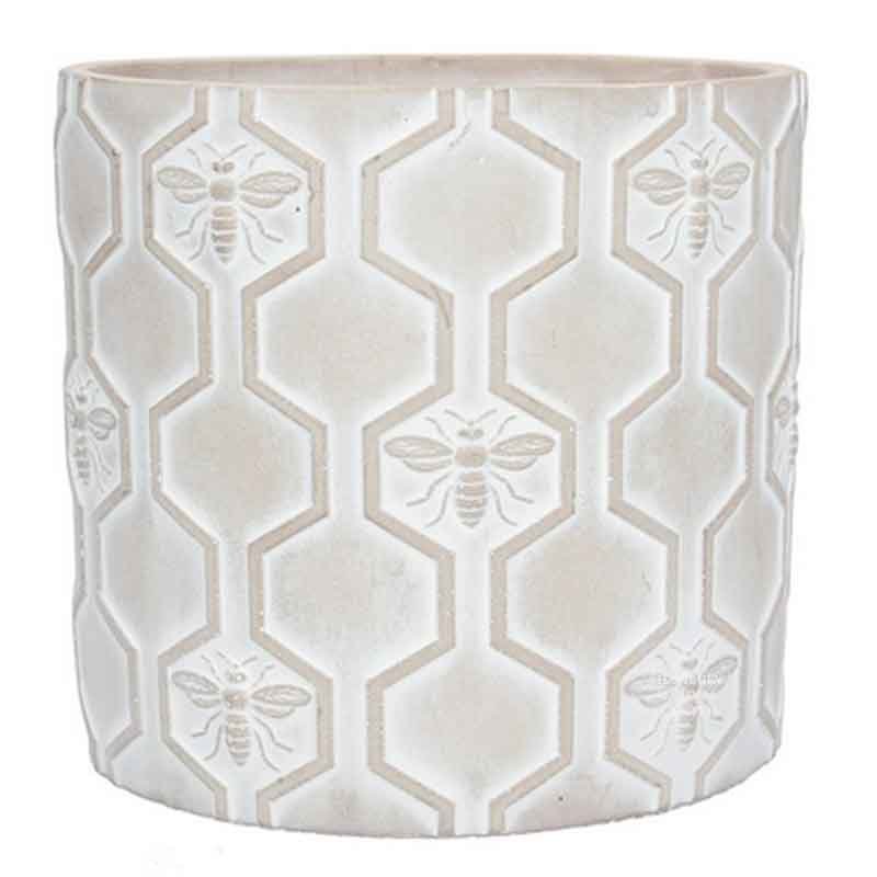 Picture of Gisela Graham Stone Effect Bee Pot Cover