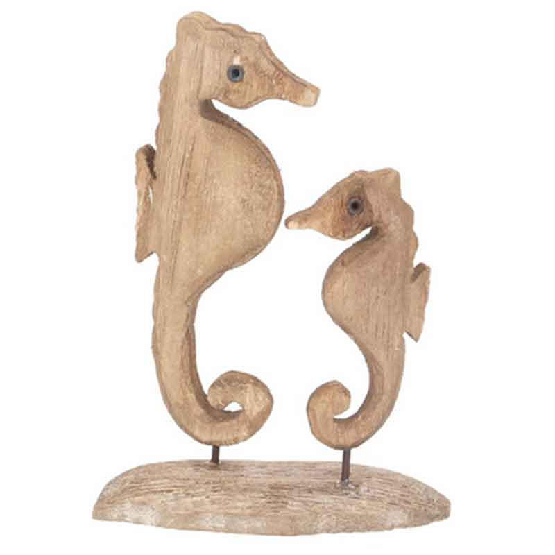 Picture of Gisela Graham Seahorse Duo Ornament