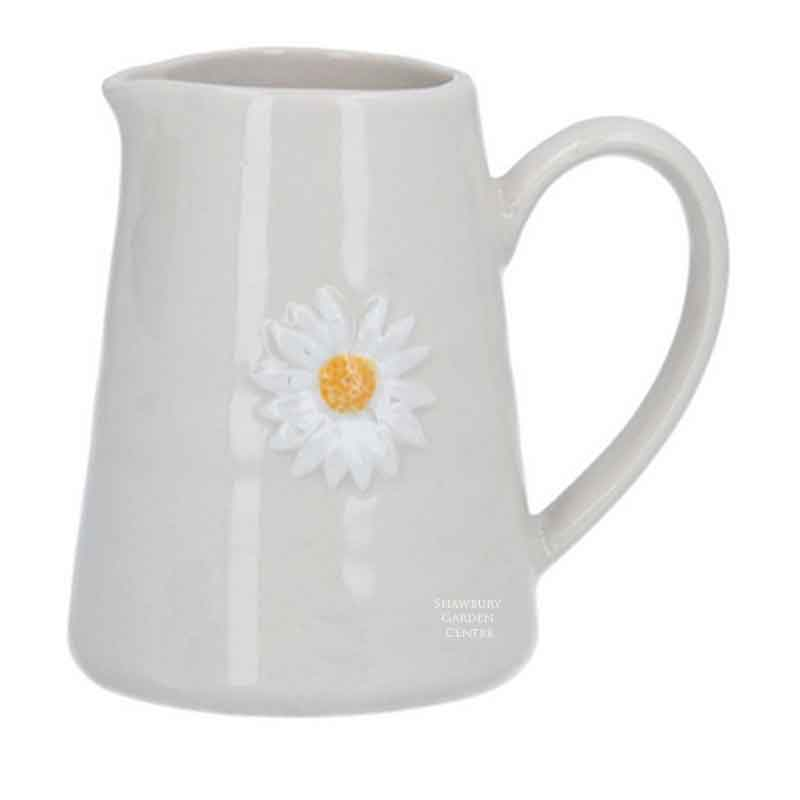 Picture of Gisela Graham Daisy Mini Ceramic Jug