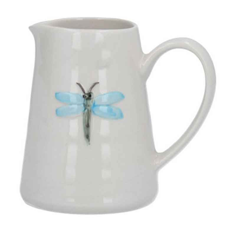 Picture of Gisela Graham Ceramic Mini Jug with Dragonfly Motif