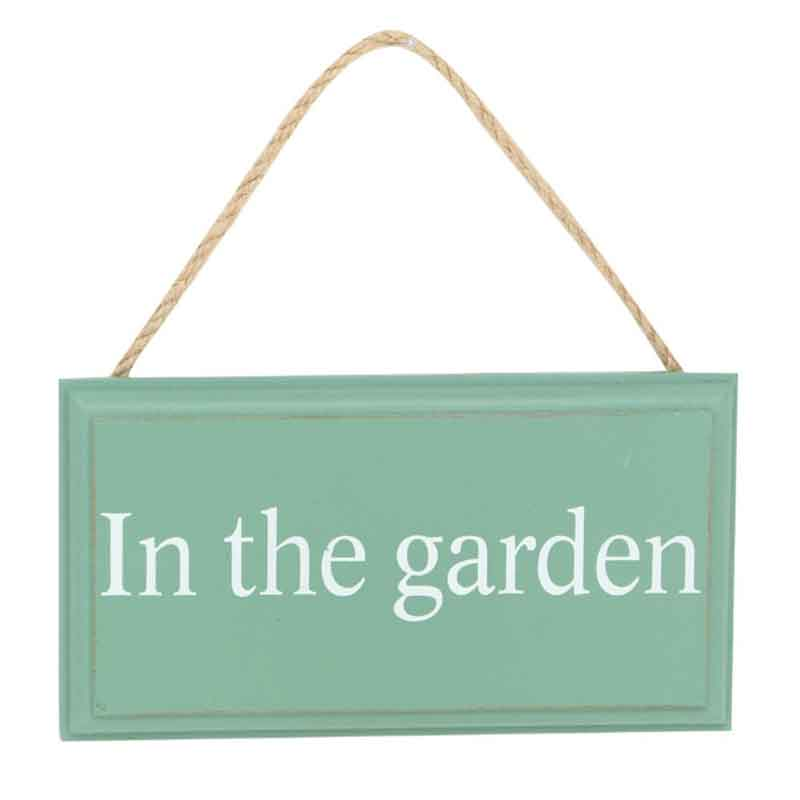 Picture of Gisela Graham 'In The Garden' Sign