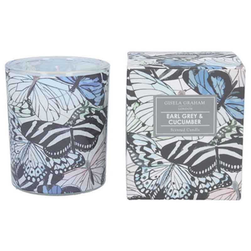 Picture of Gisela Graham Earl Grey & Cucumber Scented Candle