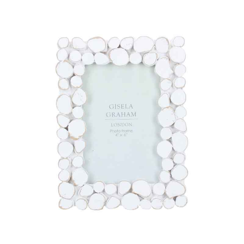Picture of Gisela Graham Pebble Resin Picture Frame