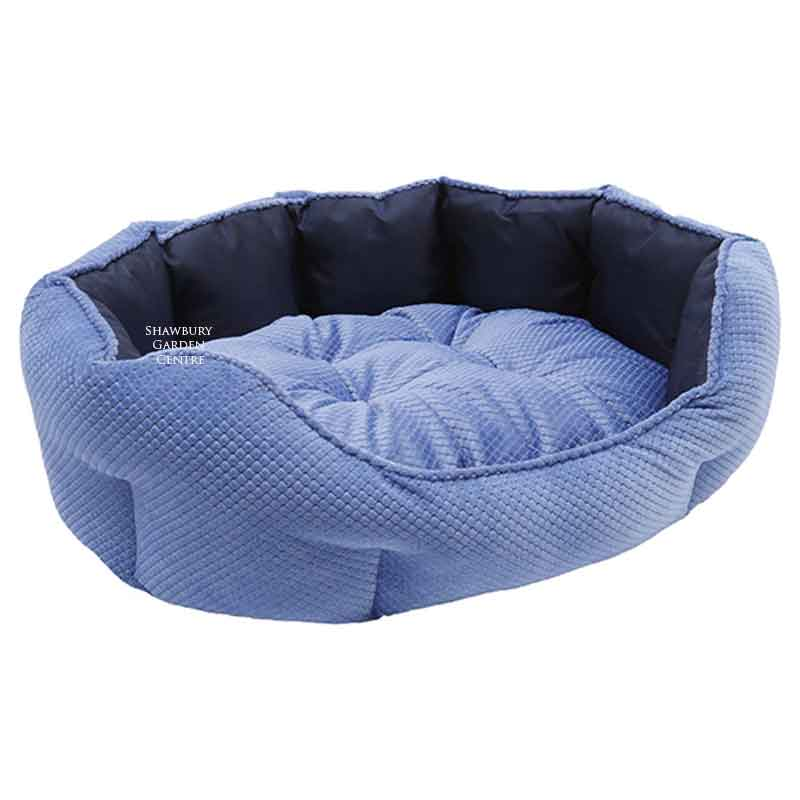 Picture of Rosewood Quilted Navy Water-Resistant Dog Bed