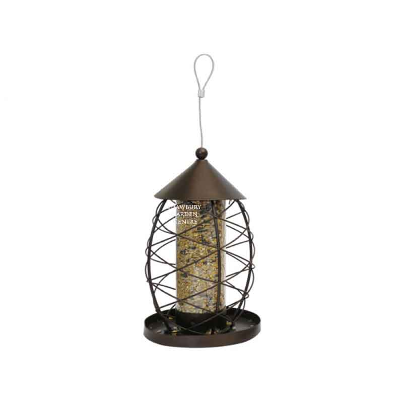 Picture of Rosewood Antique Lantern Seed Feeder
