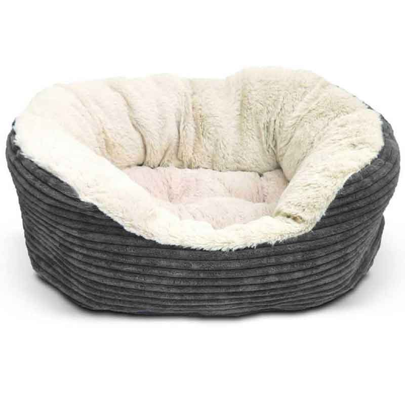 Picture of Rosewood Grey Jumbo Cord Dog Bed