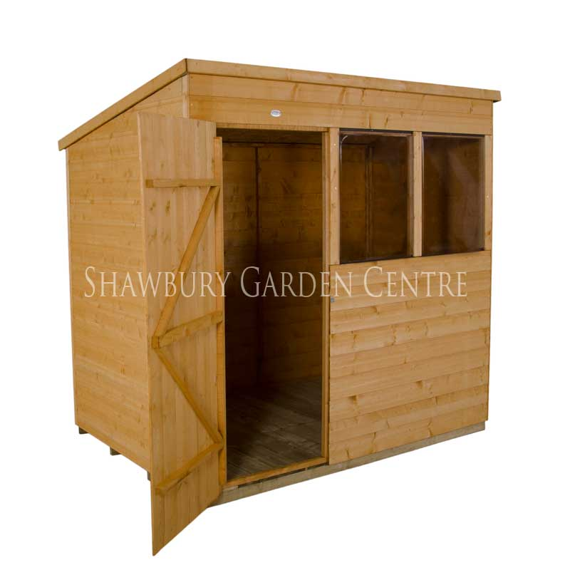 Picture of Forest Garden 7 x 5 Shiplap Pent Shed