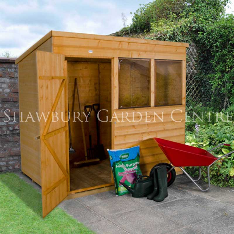 Picture of Forest Garden 7 x 5 Shiplap Pent Shed - ASSEMBLED