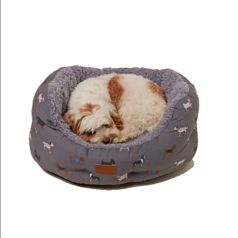 Picture of FatFace Marching Dogs Dog Bed