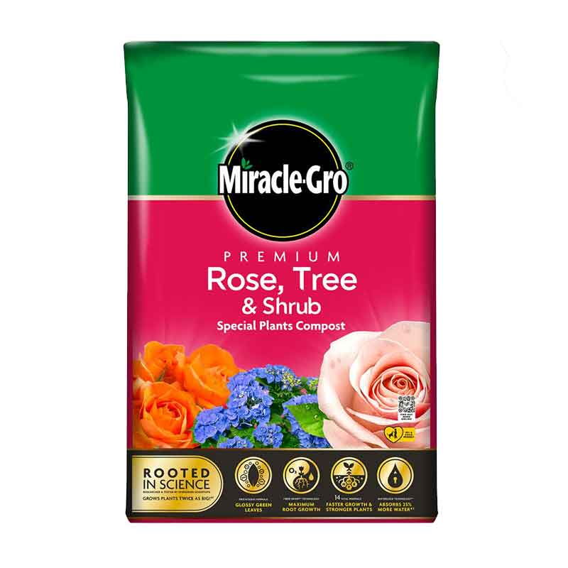 Picture of Miracle-Gro Rose Tree & Shrub Compost