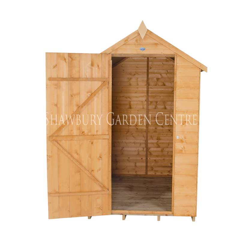 Picture of Forest Garden 4 x 6 Shiplap Apex Shed: Dip Treated