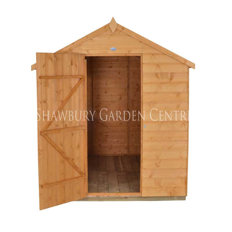 Picture of Forest Garden 6 x 8 Shiplap Apex Shed