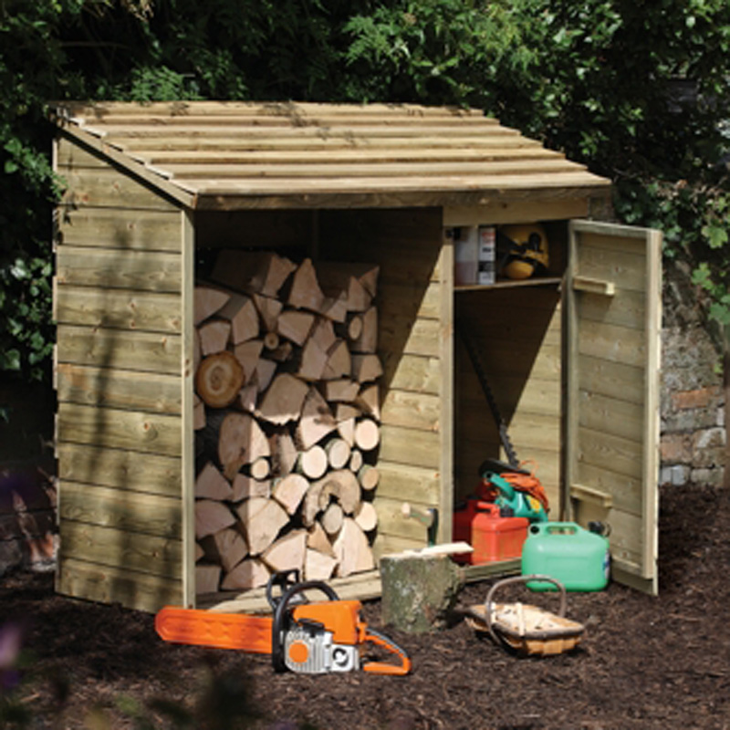 Picture of Forest Garden Log & Tool Store