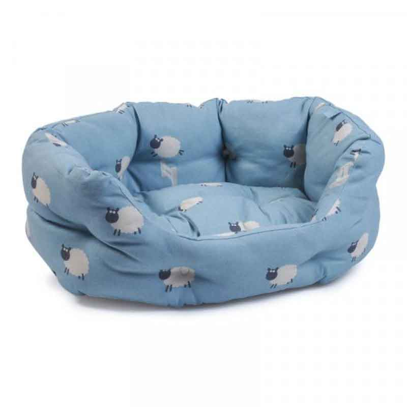 Picture of Counting Sheep Oval Dog Bed