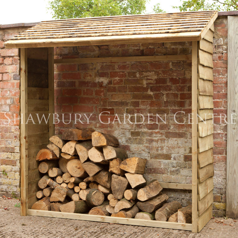 Picture of Forest Garden Lean-to Wall Log Store