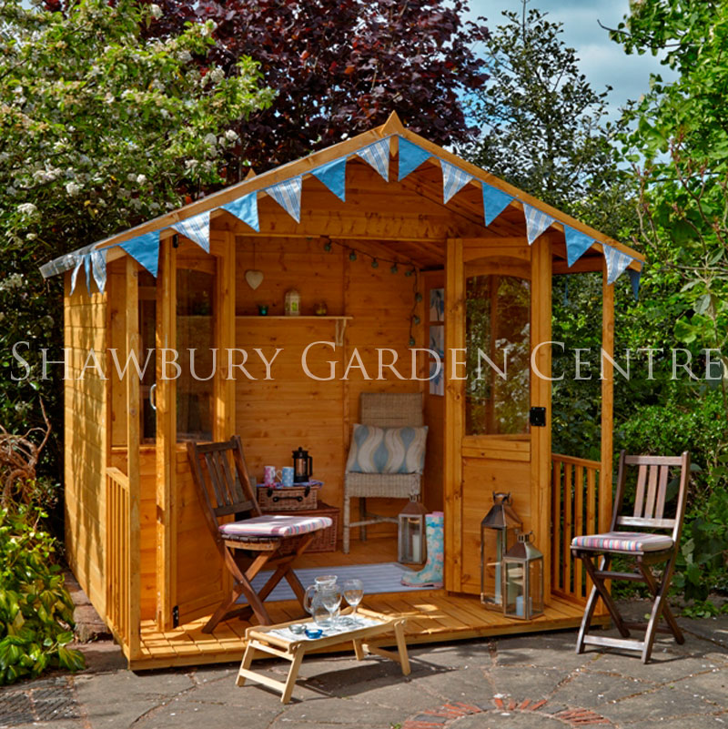 Picture of Forest Garden 8 x 8ft Hollington Summerhouse