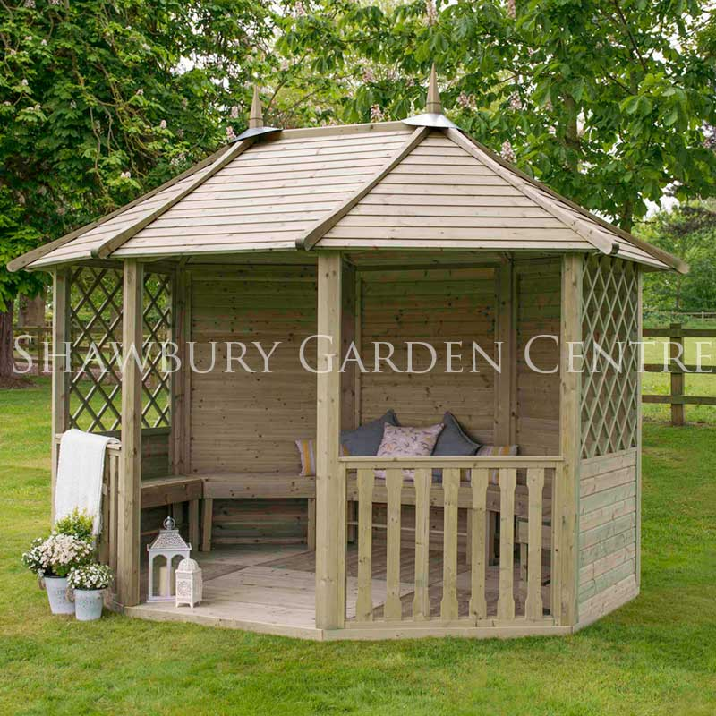 Picture of Forest Garden Burford Pavilion - ASSEMBLED