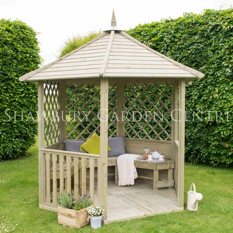Picture of Forest Garden Burford Gazebo: Flat Packed Kit